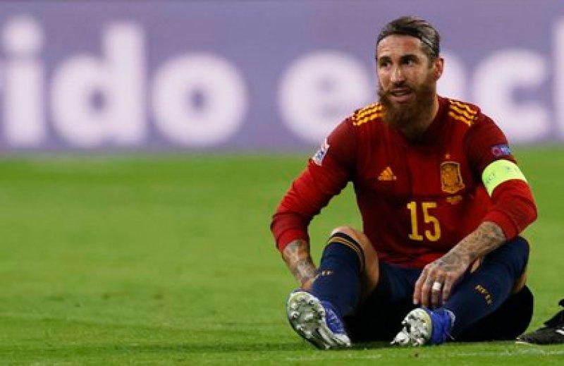 Ramos jugó los dos partidos de la Liga de las Naciones de la UEFA (Reuters)