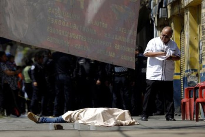 During the first 21 months of the last three administrations, it was observed: 19,000 intentional homicides in the government of Felipe Calderón, 23,000 in that of Enrique Peña Nieto, and 48,000 in that of López Obrador (Photo: REUTERS / Luis Cortés)