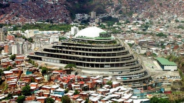 El Helicoide, el Caracas, utilizado como centro de detención y torturas por el régimen venezolano