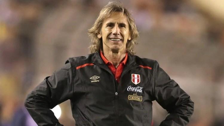Ricardo Gareca, entrenador de la selección de Perú(Daniel Apuy/Getty Images)