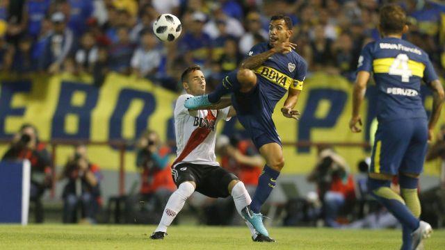 Boca perdió en Mendoza contra River la Supercopa Argentina 2018 (Nicolás Aboaf)