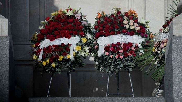 Muerte Carlos Saúl Menem - Velorio Senado