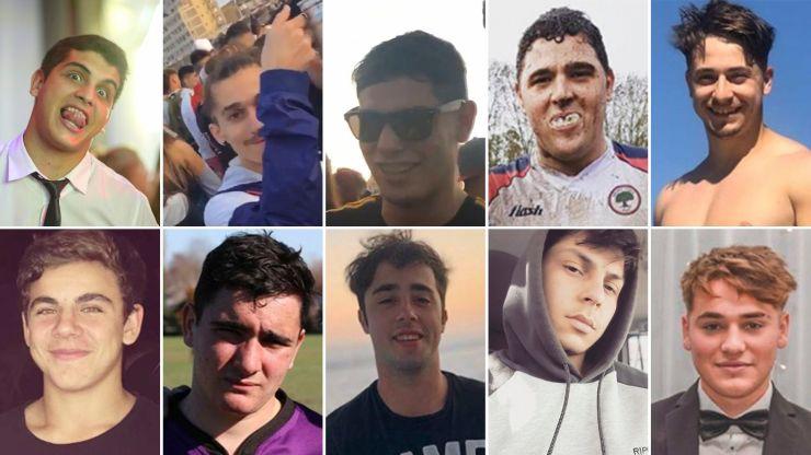 Los 10 detenidos por el homicidio