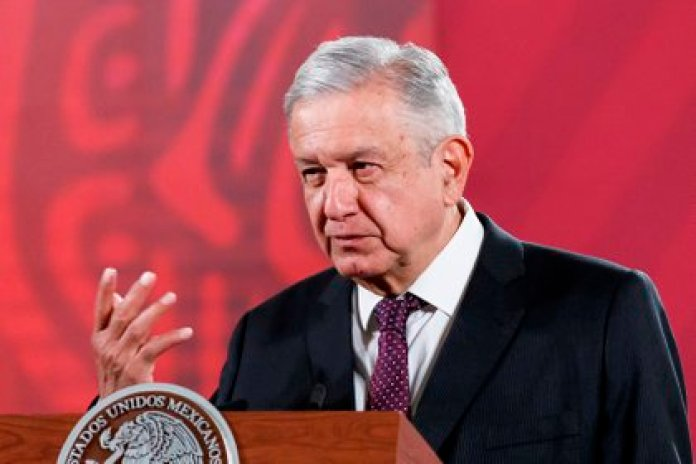 """The members of the fund have taken with great optimism the initiative and the interest of President López Obrador to investigate the """"treasure"""" (Photo: EFE / José Méndez)"""