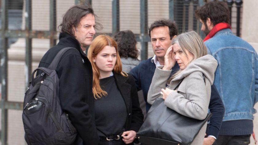 La familia de Débora Pérez Volpin estuvo presente en el comienzo del juicio