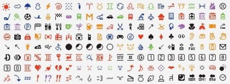 Estos son los primeros 176 emojis creados por Kurita