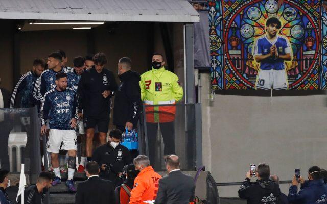 Los homenajes a la figura de Diego Maradona se multiplicaron