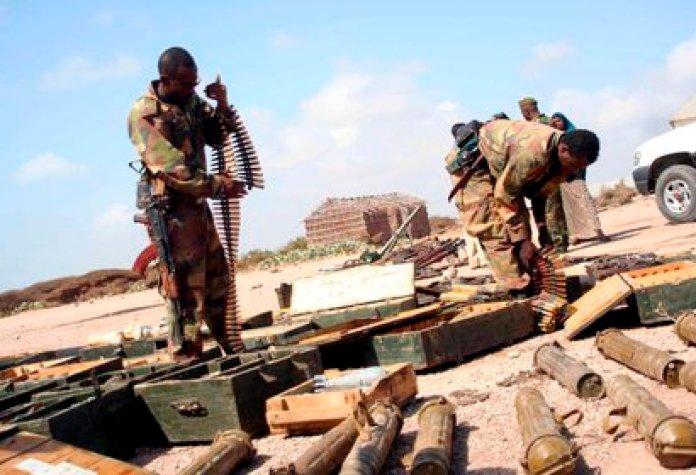 Soldados etíopes se preparan para el combate en Tigray (EFE/Ibrahim Elmi/Archivo)