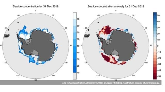 El deshielo es cada vez peor en la Antártida