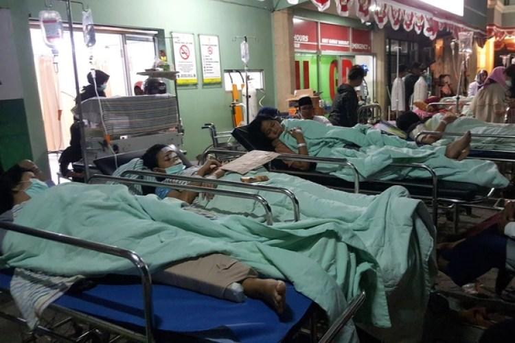 Hay más de mil personas heridas (AFP)