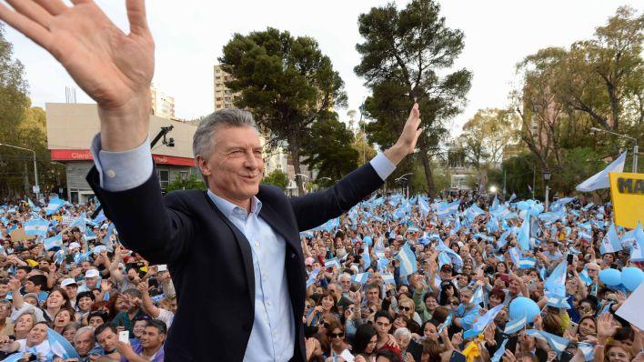 El presidente Macri está recorriendo el país, en campaña para ser reelegido. (Prensa Juntos por el Cambio)