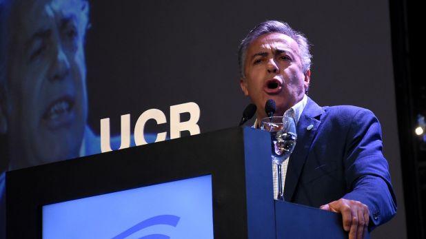 Alfredo Cornejo es uno de los firmantes del duro comunicado de la UCR contra el Gobierno