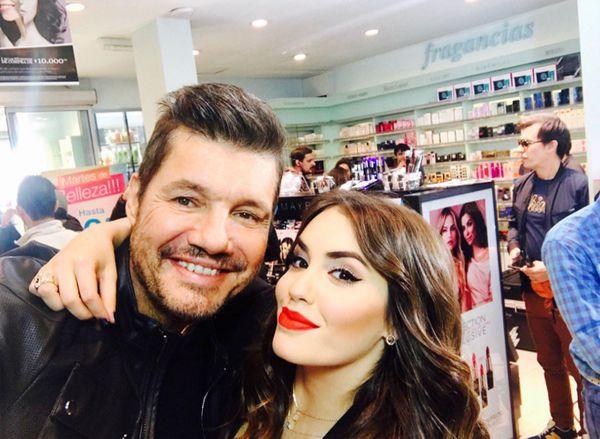 Marcelo Tinelli y Lali Espósito