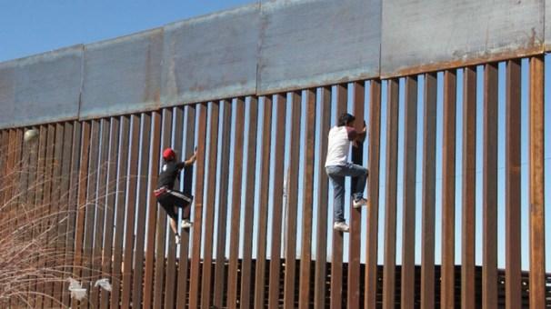 La construcción del muro es el principal punto de discordia entre republicanos y demócratas (Getty)