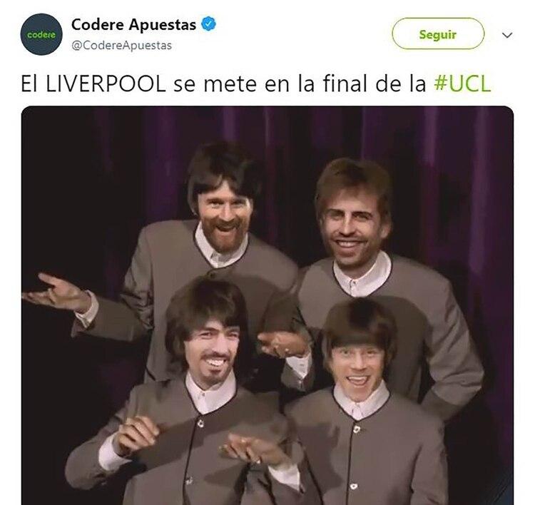 Por supuesto, The Beatles y los 4 de Liverpool no podían faltar