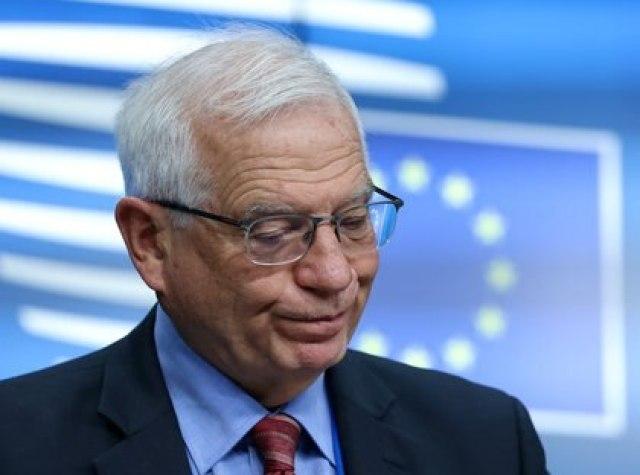 Josep Borrell, alto representante para la política exterior de la UE, condenó la brutal represión en Myanmar (Aris OIkonomou/Pool via REUTERS)