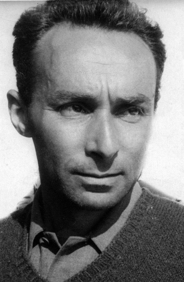 Primo Levi, sobreviviente de Auschwitz y escritor notable
