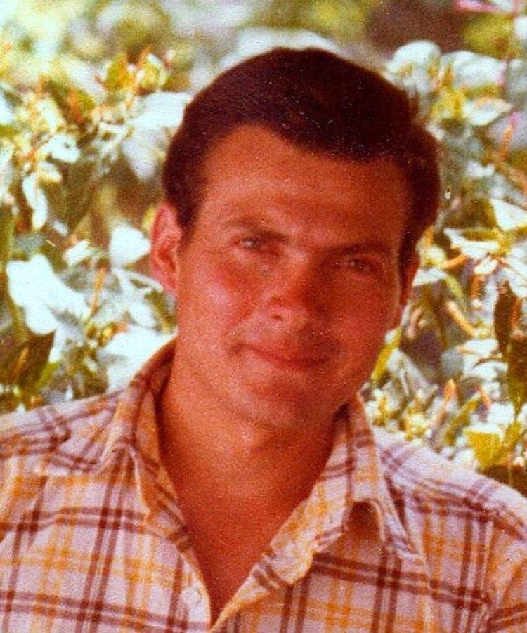 Luis Castagnari en una de sus últimas fotos en el continente en enero de 1982 en Río Cuarto