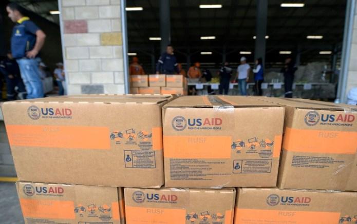 EEUU duplicará el envío de ayuda humanitaria (Foto de Raul ARBOLEDA / AFP)