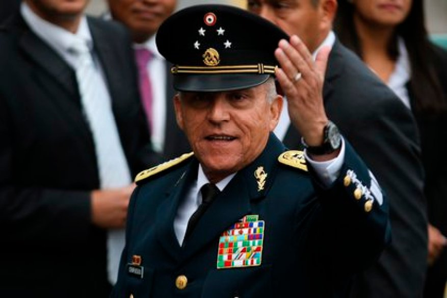 The UIF does not have any request for information or is investigating the former Secretary of Defense, Salvador Cienfuegos (Photo: EFE / José Pazos / File)