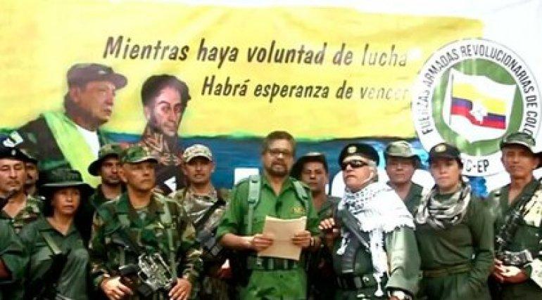 Anuncio de Iván Márquez y compañía de su regreso a las armas en agoto del 2019.