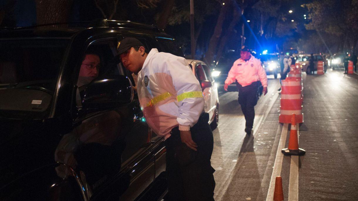 El programa de prevención de accidentes vehiculares enfocado en identificar conductores ebrios comenzó hace 15 años en la Ciudad de México (Foto: Iván Stephens/ Cuartoscuro)