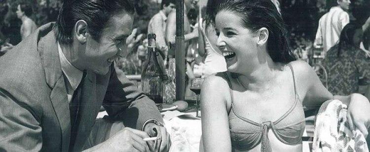 """Junto a Marilina Ross protagonizó la película """"Las pirañas"""", en 1967"""