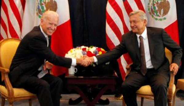 Biden and AMLO already met once: in 2012, when the first was vice president, the second presidential candidate (Photo: Cuartoscuro)