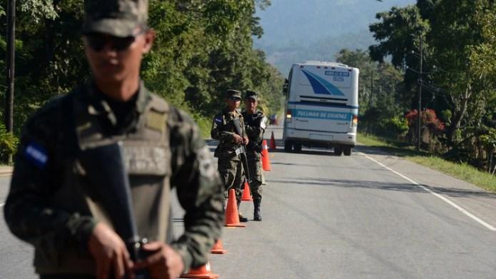 México ha militarizado la zona de su frontera sur con Guatemala (Foto: AFP)