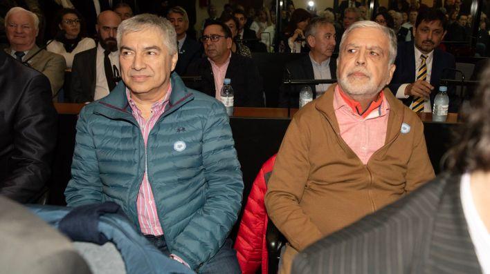 Lázaro Báez y Julio De Vido (Adrián Escandar)