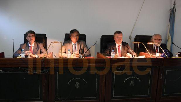 El Tribunal Oral Federal 6 que enjuicia a Jaime. (Maximiliano Luna)