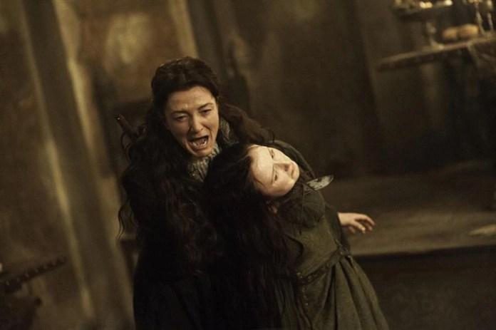 Catelyn Stark, una de las tantas víctimas de la boda roja (Foto: HBO)
