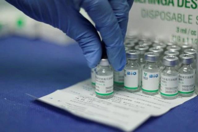 Dosis de Sinopharm (Reuters)