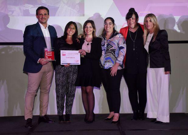 CMR FALABELLA, servicios financieros. Marcelo Cerutti, Gilda Ceballos ,María Laura Magnolle, Natalia Gabrieloni y Marina Orlando