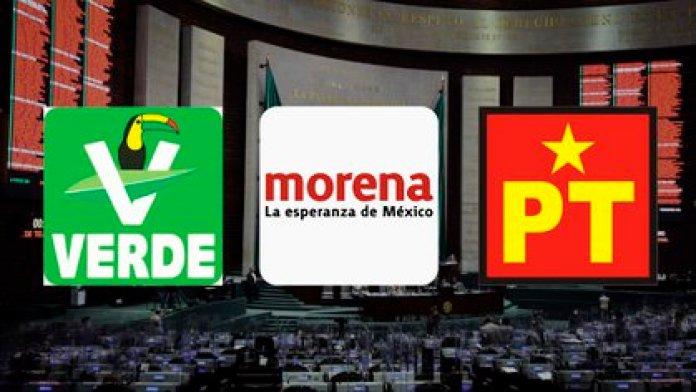 Las candidaturas en Morena también estarán determinadas por la coalición con el PT y el Partido Verde en unos 150 distritos (Fotoarte: Steve Allen /Infobae México)