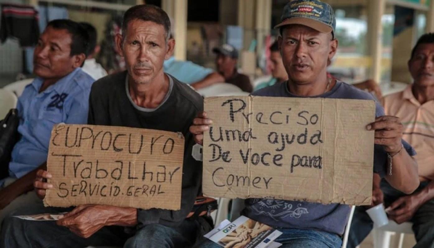 El promedio de entrada de venezolanos en Roraima en los últimos cinco meses fue de 416 personas por día