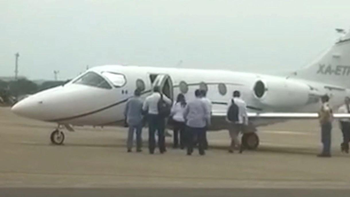 El vuelo de la lideresa tuvo un costo de 460,000 pesos (Foto: captura de pantalla)