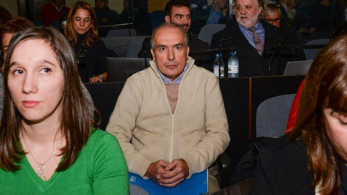 El ex secretario de Obras Públicas José López (Julieta Ferrario)
