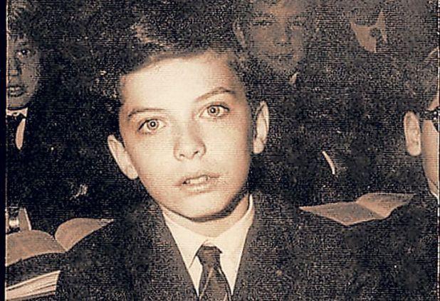 Macri como alumno del Newman, un colegio privado de la zona norte elegido por un sector de alto poder adquisitivo.