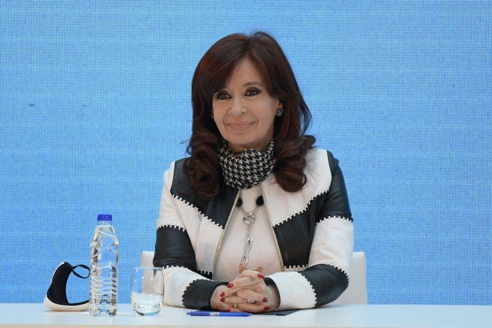 Cristina Fernández de Kirchner, Vicepresidente