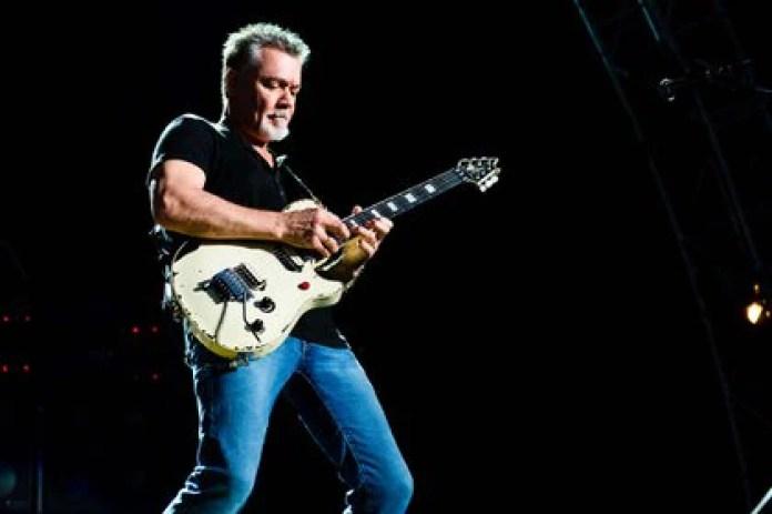 Eddie Van Halen falleció el 6 de octubre de 2020 tras una larga batalla contra el cáncer (Shutterstock)