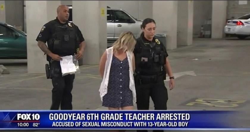 La ex maestra fue detenida en marzo de 2018, y desde entonces se había declarado culpable (Foto: FOX)