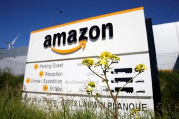 Amazon es el tercer servicio de entrega de drones que cuenta con aprobación de la FAA (REUTERS/Pascal Rossignol)