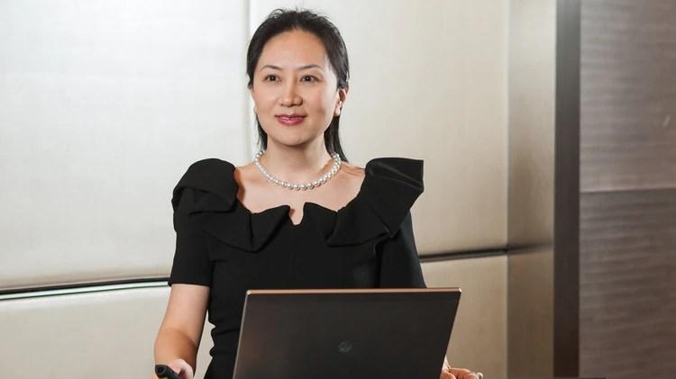 Meng Wanzhou es hija del fundador deHuawei(Huawei)
