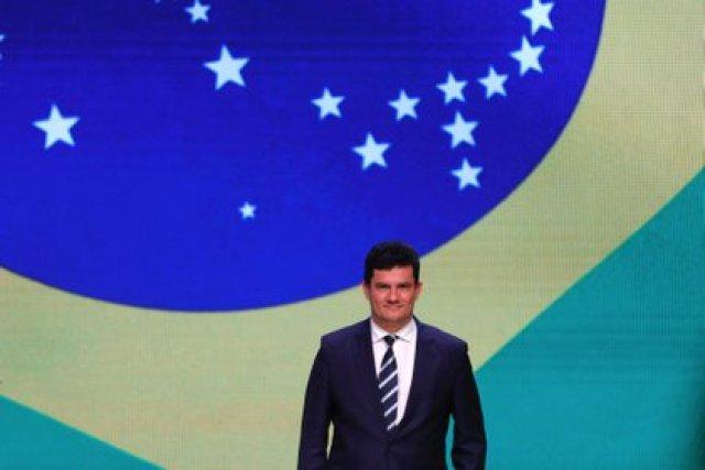 El juez y ex ministro de Justicia de Brasil, Sergio Moro