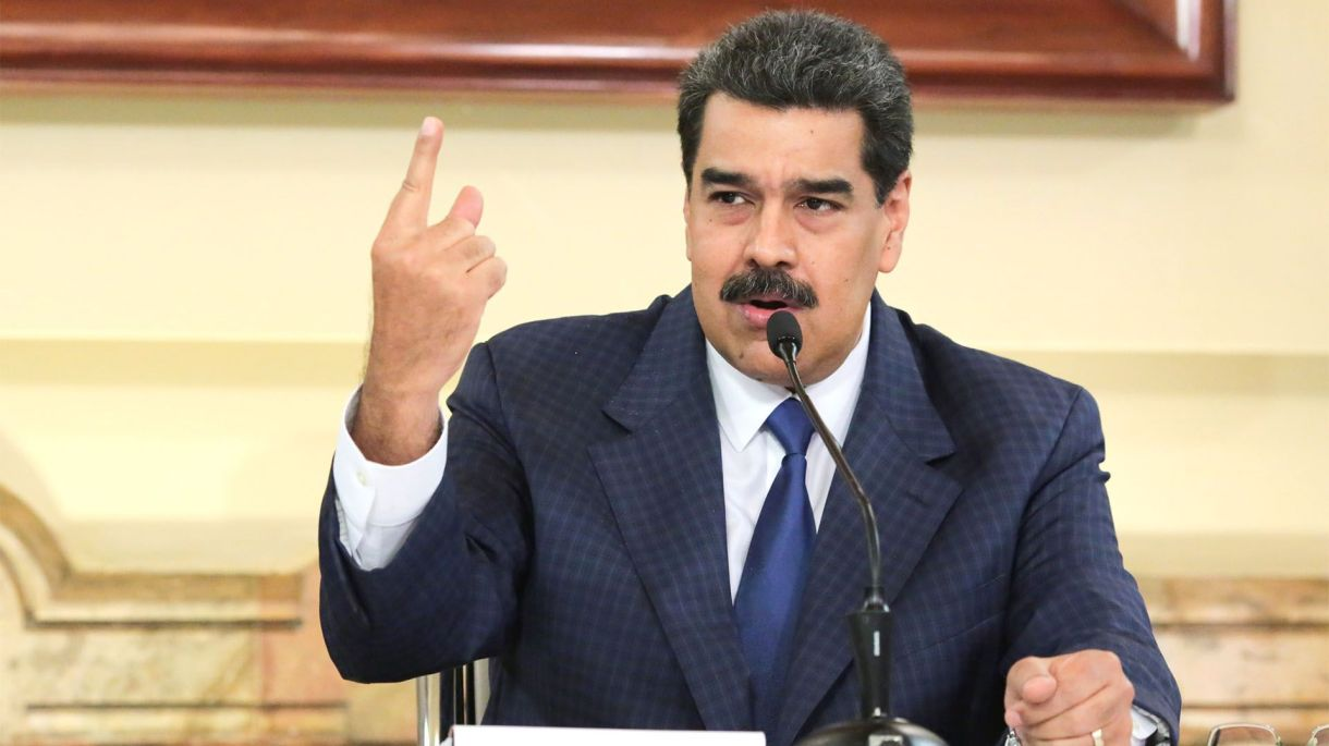 Nicolás Maduro se levantó de la mesa de negociación en Barbados tras el bloque impuesto por EEUU (EFE)