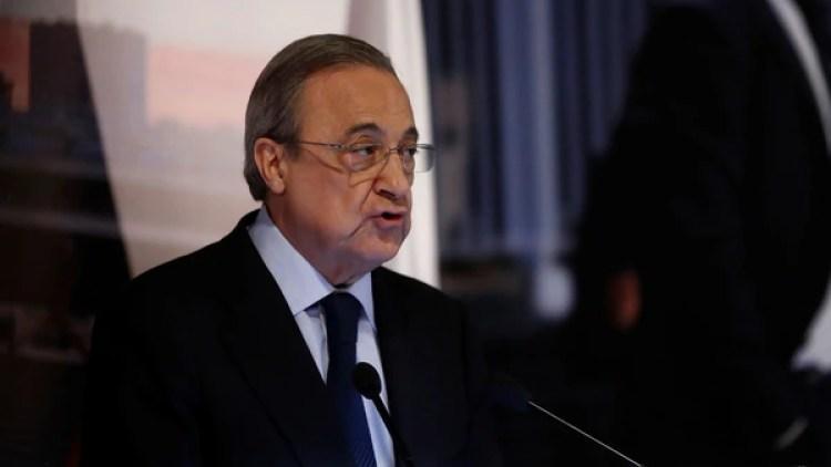 Florentino Pérez no tiene buena relación con algunos futbolistas del plantel (Reuters)