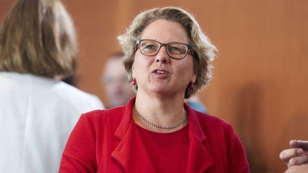 La ministra de Medio Ambiente de Alemania Svenja Schulze (Schacht Henning/action press/Shutterstock)