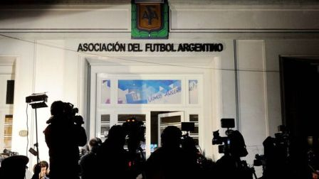 La AFA atraviesa una gran crisis económica y dirigencial (AFP)