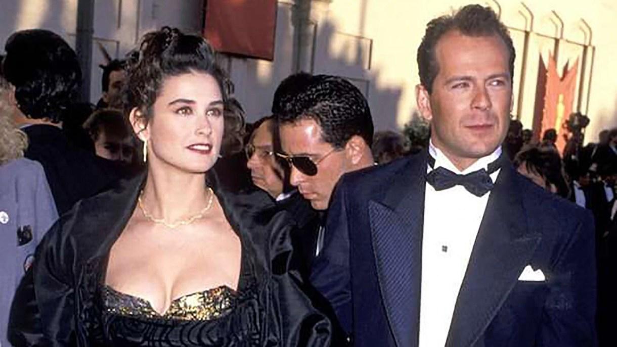 Demi Moore y Bruce Willis estuvieron casados durante 13 años
